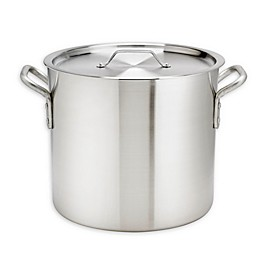 Thermalloy® Aluminum Stock Pot with Lid
