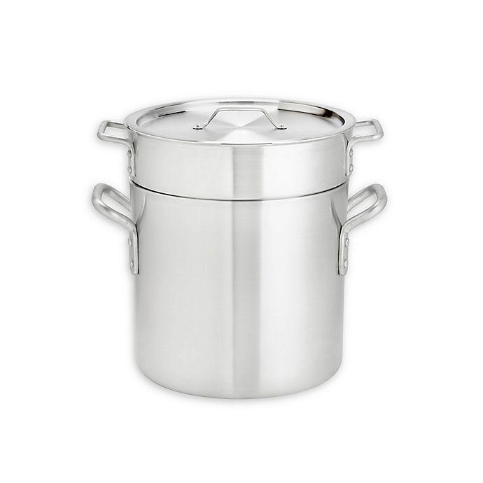 Alternate image 1 for Thermalloy® 8 qt. Aluminum 3-Piece Double Boiler Set