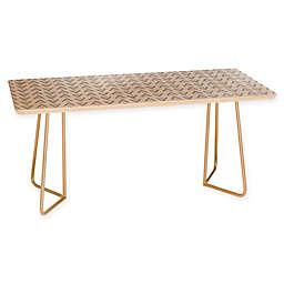 Deny Designs Allyson Johnson Grey Arrows Coffee Table in Grey