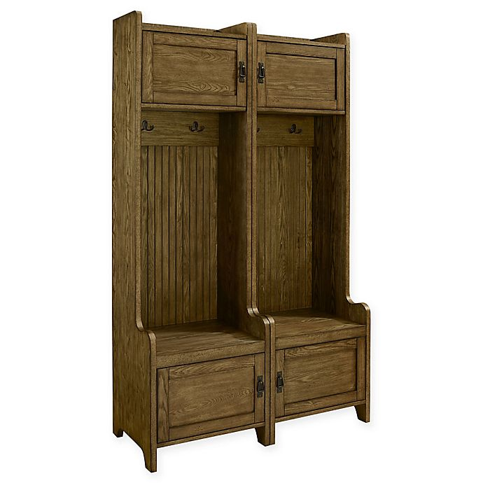 Alternate image 1 for Crosley Freemont Entryway Tower in Coffee (Set of 2)