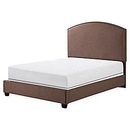 Crosley Furniture Cassie Linen Upholstered Bedset