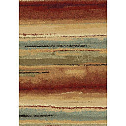 Orian Rugs Wild Weave Dusk To Dawn 5'3 x 7'6 Multicolor Area Rug