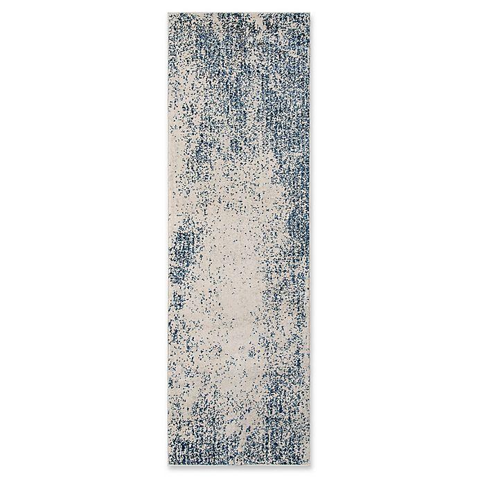 Alternate image 1 for Momeni Loft 2'3 x 7'6 Rug in Blue