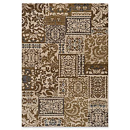 Momeni Dream Damask 2' x 3' Accent Rug in Ivory