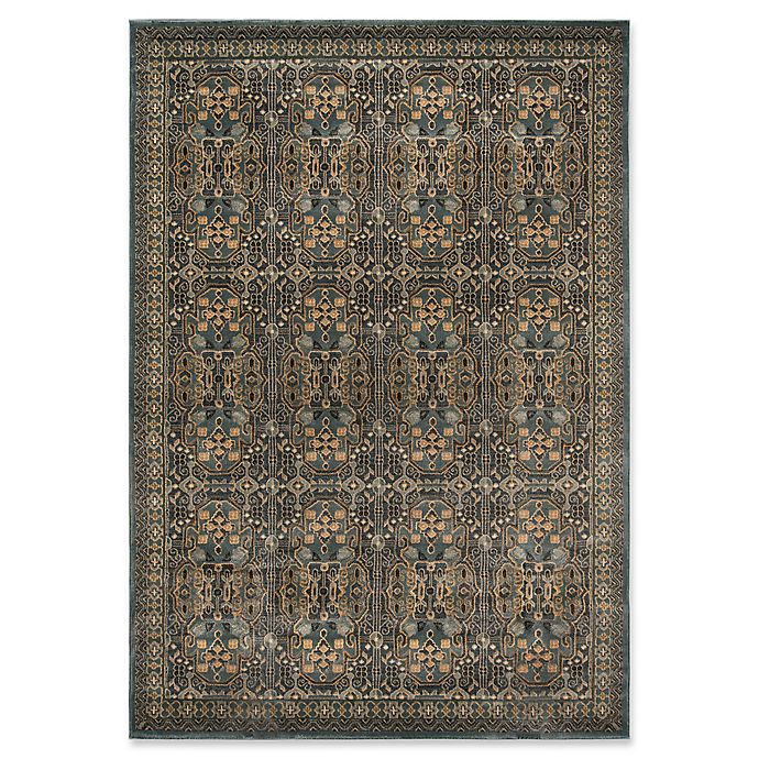 Alternate image 1 for Momeni Belmont 3'11 x 5'7 Area Rug in Light Blue