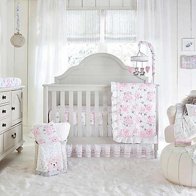 Wendy Bellissimo™ Savannah Watercolor Floral 4-Piece Crib Bedding Set
