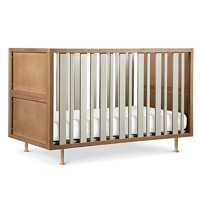 Alternate image 1 for Nursery Works Novella 4-in-1 Convertible Crib in Ash/Ivory