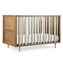 Nursery Works Novella 4-in-1 Convertible Crib in Ash/Ivory