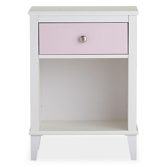 Alternate image 1 for Little Seeds Monarch Hill Poppy Nightstand in Pink