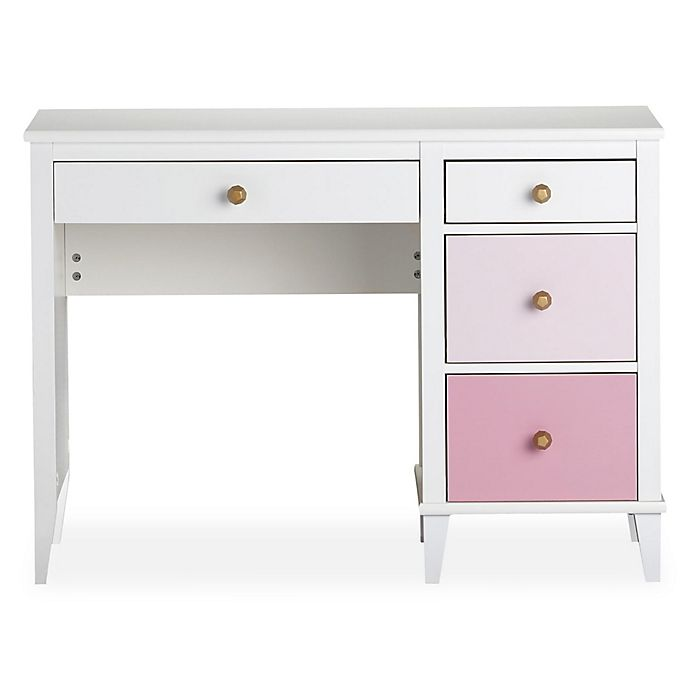 Alternate image 1 for Little Seeds Monarch Hill Poppy Writing Desk in Pink
