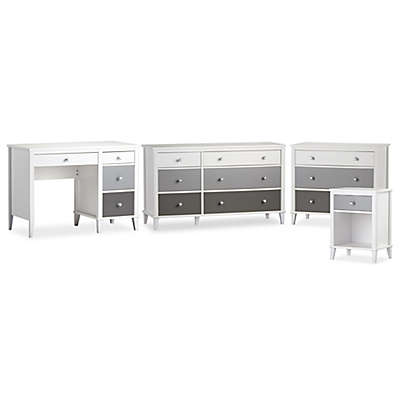 Little Seeds Monarch Hill Poppy Nursery Furniture Collection in Grey
