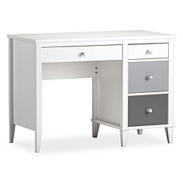 Little Seeds Monarch Hill Poppy 4-Drawer Desk in Grey