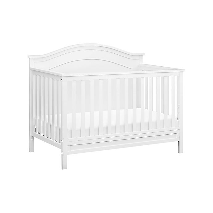 Alternate image 1 for DaVinci Charlie 4-in-1 Convertible Crib in White