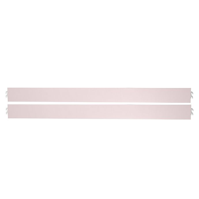 Alternate image 1 for evolur™ Aurora Full-Size Bed Rails in Blush Pink Pearl