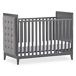 Little Seeds Monarch Hill Avery Upholstered Crib in Grey