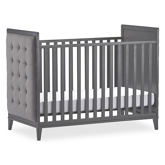 Alternate image 1 for Little Seeds Monarch Hill Avery Upholstered Crib in Grey