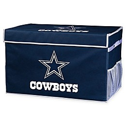NFL Dallas Cowboys Collapsible Storage Foot Locker