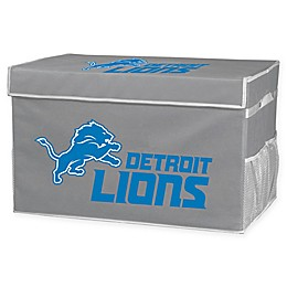 NFL Detroit Lions Collapsible Storage Foot Locker