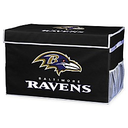 NFL Baltimore Ravens Collapsible Storage Foot Locker