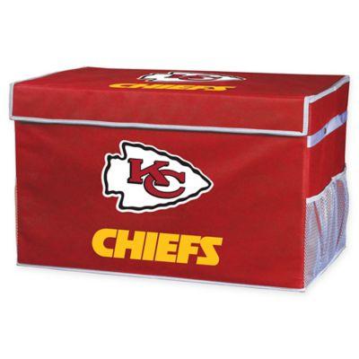 Nfl Kansas City Chiefs Collapsible Storage Foot Locker