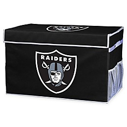NFL Oakland Raiders Collapsible Storage Foot Locker