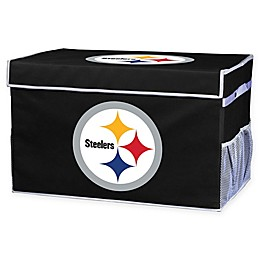 NFL Collapsible Pittsburgh Steelers Storage Foot Locker