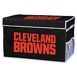 NFL Cleveland Browns Collapsible Storage Foot Locker