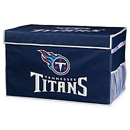 NFL Tennessee Titans Collapsible Storage Foot Locker