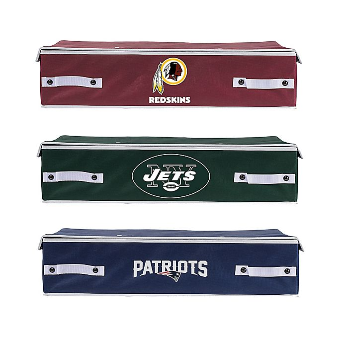 Alternate image 1 for NFL Underbed Storage Bin Collection