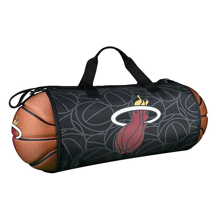 purchase cheap 19c2f 12ec3 NBA Miami Heat Basketball to Duffle Bag | Bed Bath & Beyond