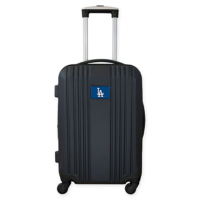 Alternate image 1 for MLB Los Angeles Dodgers 21-Inch Carry On Expandable Spinner Luggage