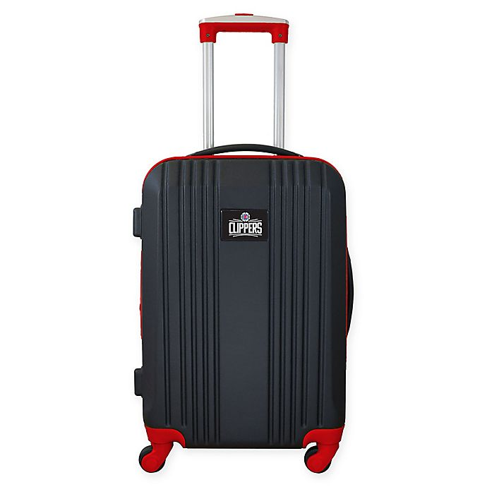 Alternate image 1 for NBA Los Angeles Clippers 21-Inch Carry On Expandable Spinner Luggage