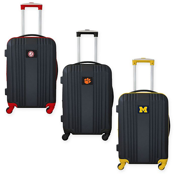 Alternate image 1 for Colligate 21-Inch Carry On Expandable Spinner Luggage in Black