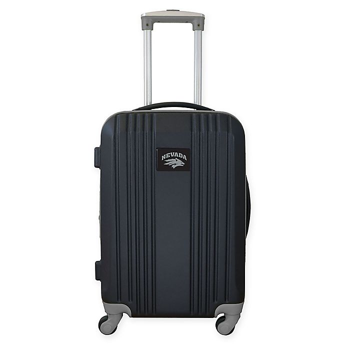 Alternate image 1 for University of Nevada, Reno 21-Inch Carry On Expandable Spinner Luggage in Black