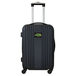 North Dakota State University 21-Inch Carry On Expandable Spinner Luggage in Black