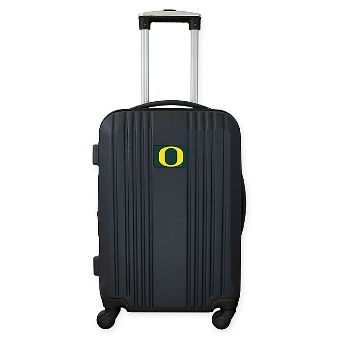 Alternate image 1 for University of Oregon 21-Inch Carry On Expandable Spinner Luggage in Black