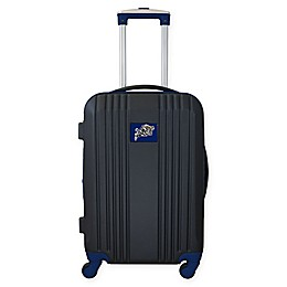 United States Naval Academy 21-Inch Carry On Expandable Spinner Luggage in Black