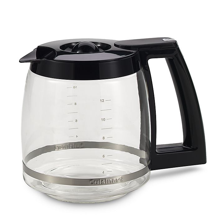 Alternate image 1 for Cuisinart® 12-Cup Replacement Carafe in Black