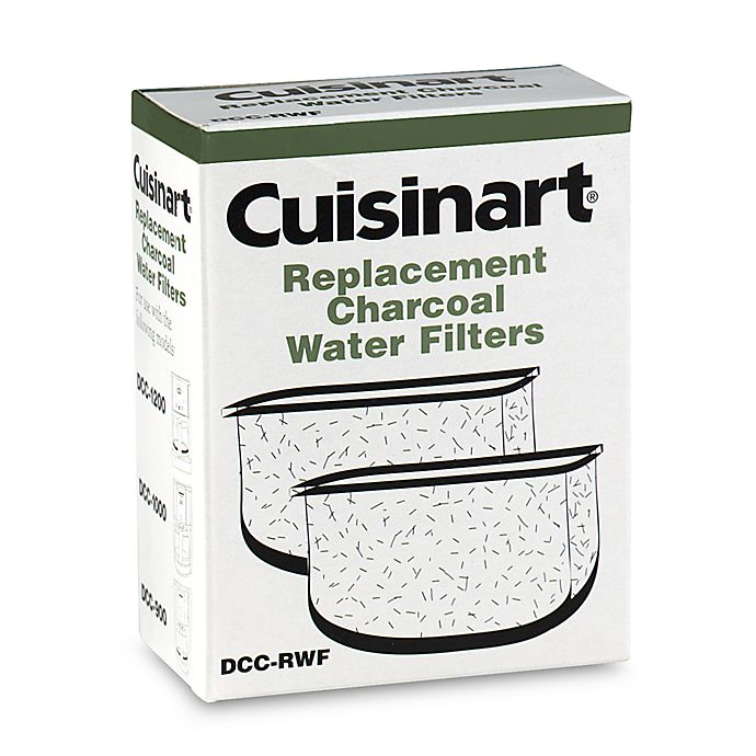 Alternate image 1 for Cuisinart® Replacement Charcoal Water Filters (Set of 2)