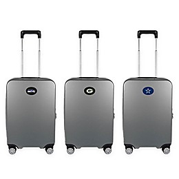 NFL 22-Inch Hardcase Carry-On Spinner Suitcase Collection in Grey