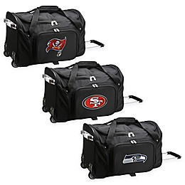 NFL 22-Inch Wheeled Carry-On Duffle with Embroidered Logo