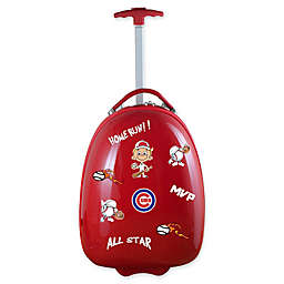 MLB Chicago Cubs 18-Inch Kids Pod Carry-On Luggage with Customizing Stickers