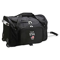 Mojo Olympics Team USA 22-Inch Wheeled Carry-On Duffle Bag