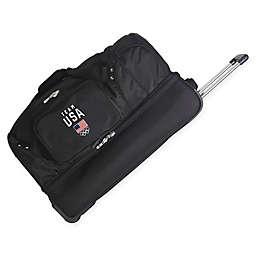 Olympics Team USA 27-Inch Drop Bottom Wheeled Duffel Bag