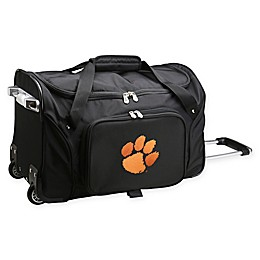 Clemson University 22-Inch Wheeled Carry-On Duffle Bag