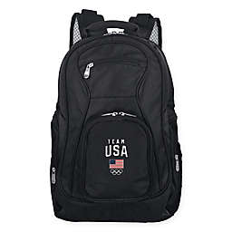 Olympics Team USA 19-Inch Laptop Backpack in Black