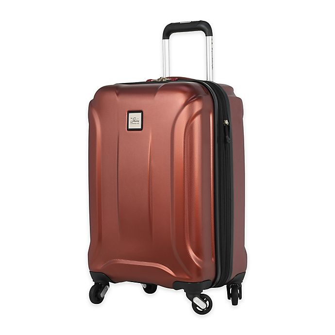 Alternate image 1 for Skyway® Luggage Nimbus 3.0 20-Inch Hardside Spinner Carry-on Luggage in Cranberry