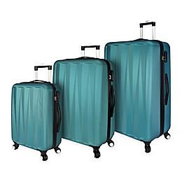 Elite Luggage Verdugo 3-Piece Hardside Luggage Set in Teal