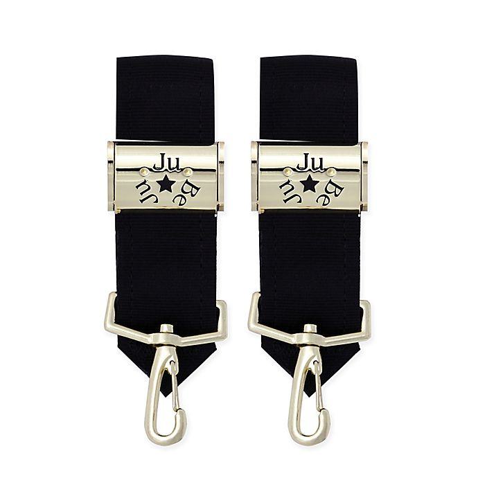 Alternate image 1 for Ju-Ju-Be® Legacy Be Connected Stroller Clips in Gold (Set of 2)