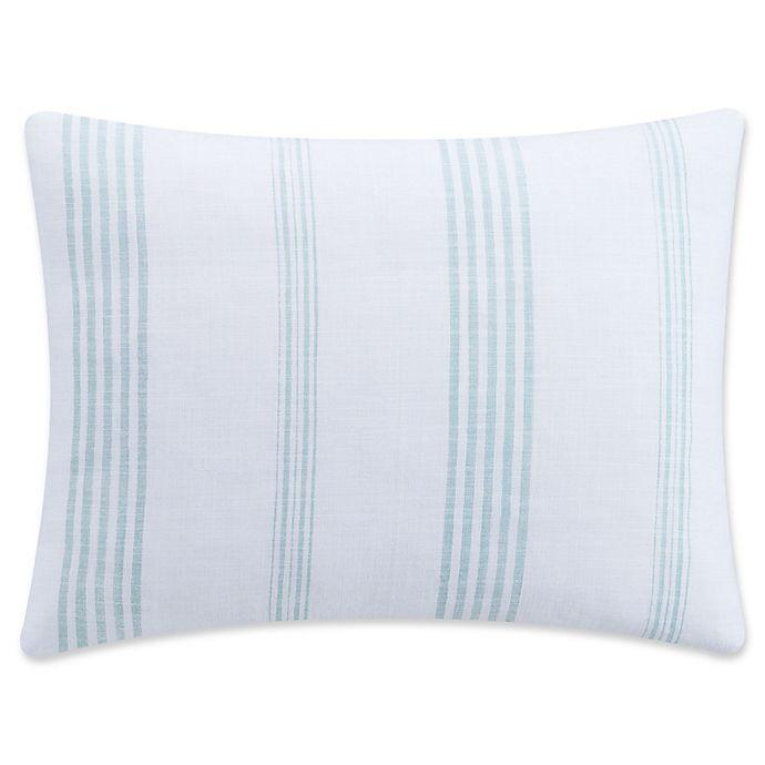 Alternate image 1 for KAS Clifton King Pillow Sham in Aqua